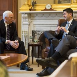Paul Ryan and Vice President Mike Pence