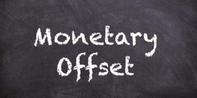 Monetary Offset