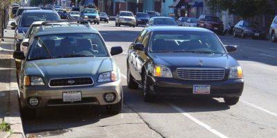 double-parking