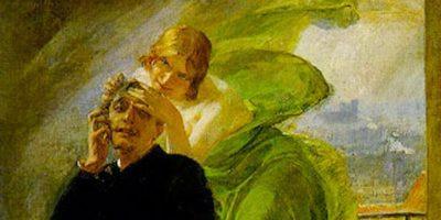 Albert Maignan La muse verte Green Muse (1)