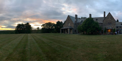 AIER Stone House at Sunset