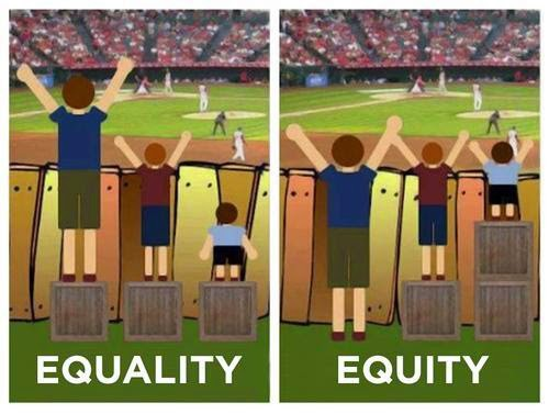 equality vs equity meme