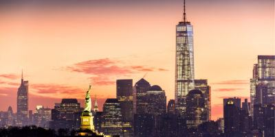 New York City, Sunrise