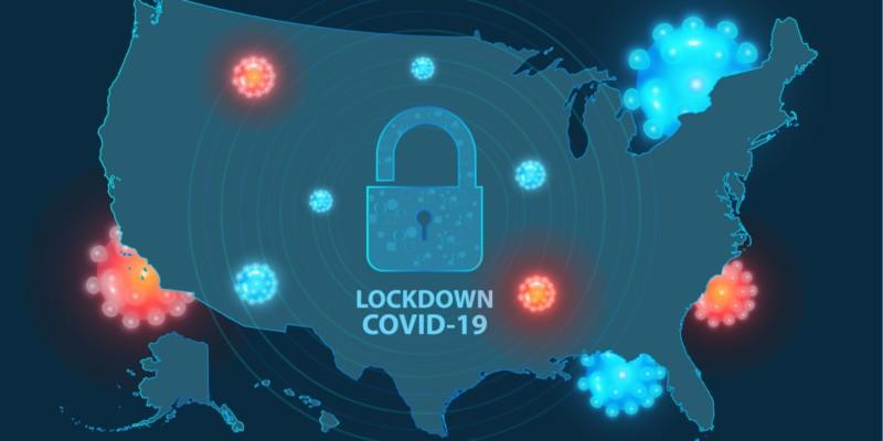 USA in Lockdown