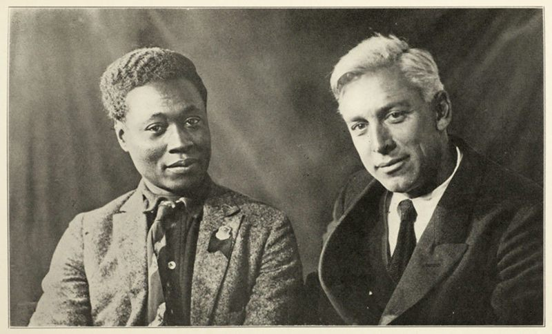 Claude McKay with Max Eastman