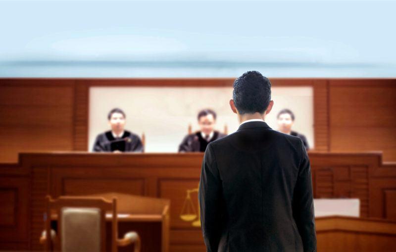 trial, person