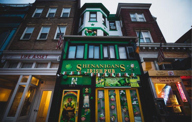 shenanigans, a pub