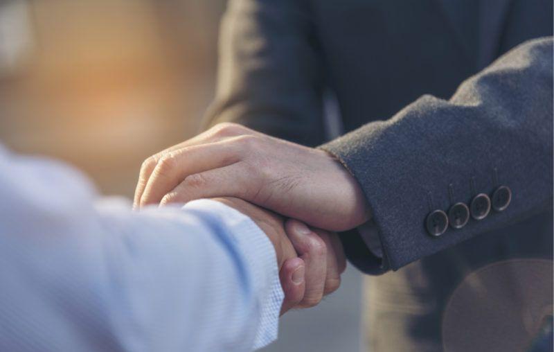 trusting hands