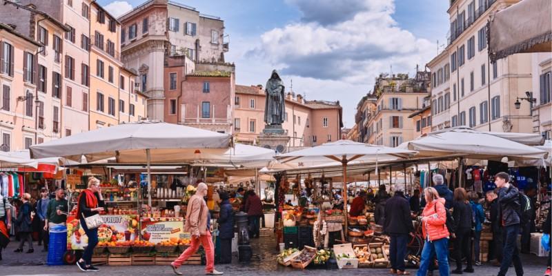 market, people