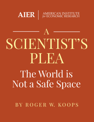 A Scientist's Plea: The World is Not a Safe Space