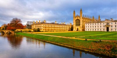 cambridge, campus, river