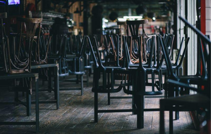 restaurant, closed