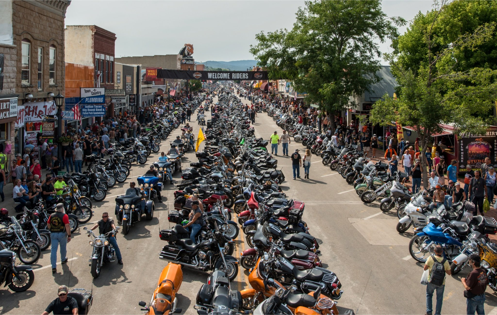 The Sturgis Rally, Then and Now
