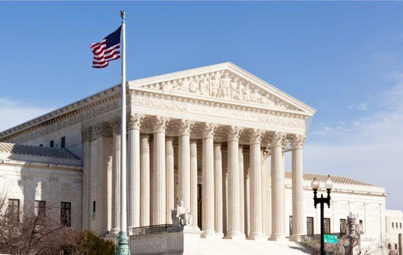 supreme court, flag, united states