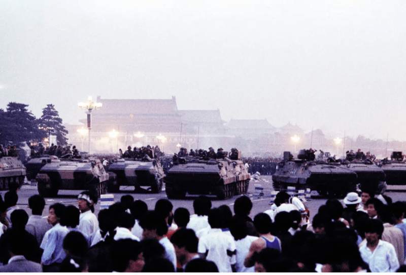 armored carriers enter
