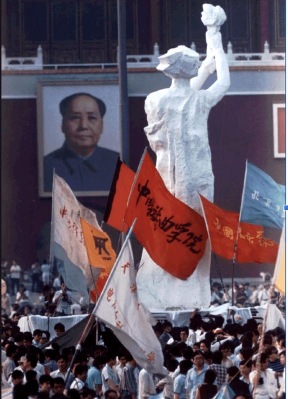 goddess of democracy statue