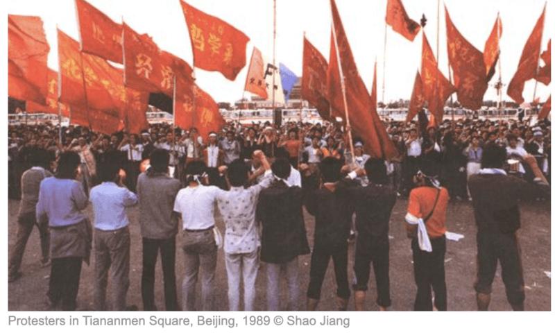 protestors 1989