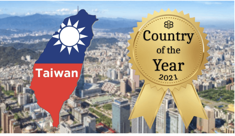 taiwan country of the year award